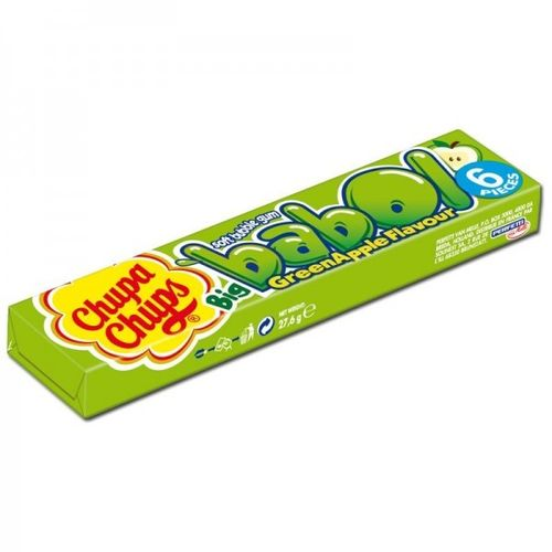 5 Chupa Chups Big Babol Apfel, Green Apple